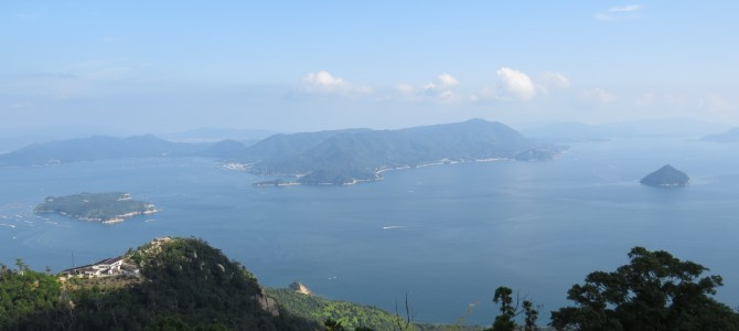 Hiking Mount Misen on Miyajima