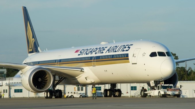 singapore airlines B787