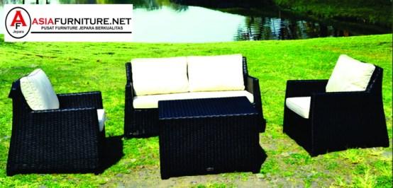 Kursi Sofa Rotan Sintetis Outdoor Pekanbaru