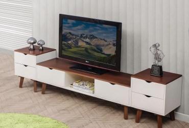 Meja TV Minimalis Modern Mebel Jepara