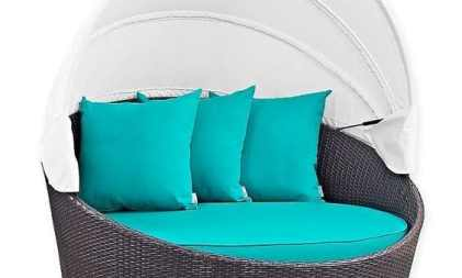 Daybed Canopy Rotan Sintetis