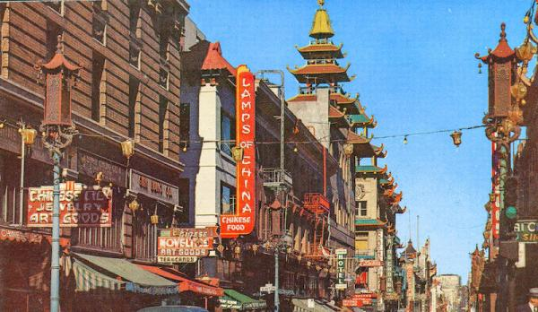 Grant Avenue, Chinatown, San Francisco, California