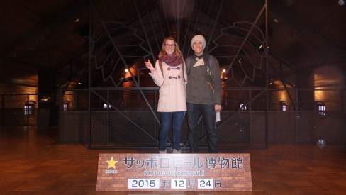 Xmas Eve at Sapporo Beer Museum