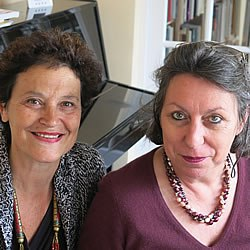 Edith Coron and Ann Garrigue