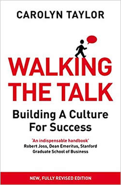 Walking the Talk by Caroline Taylor