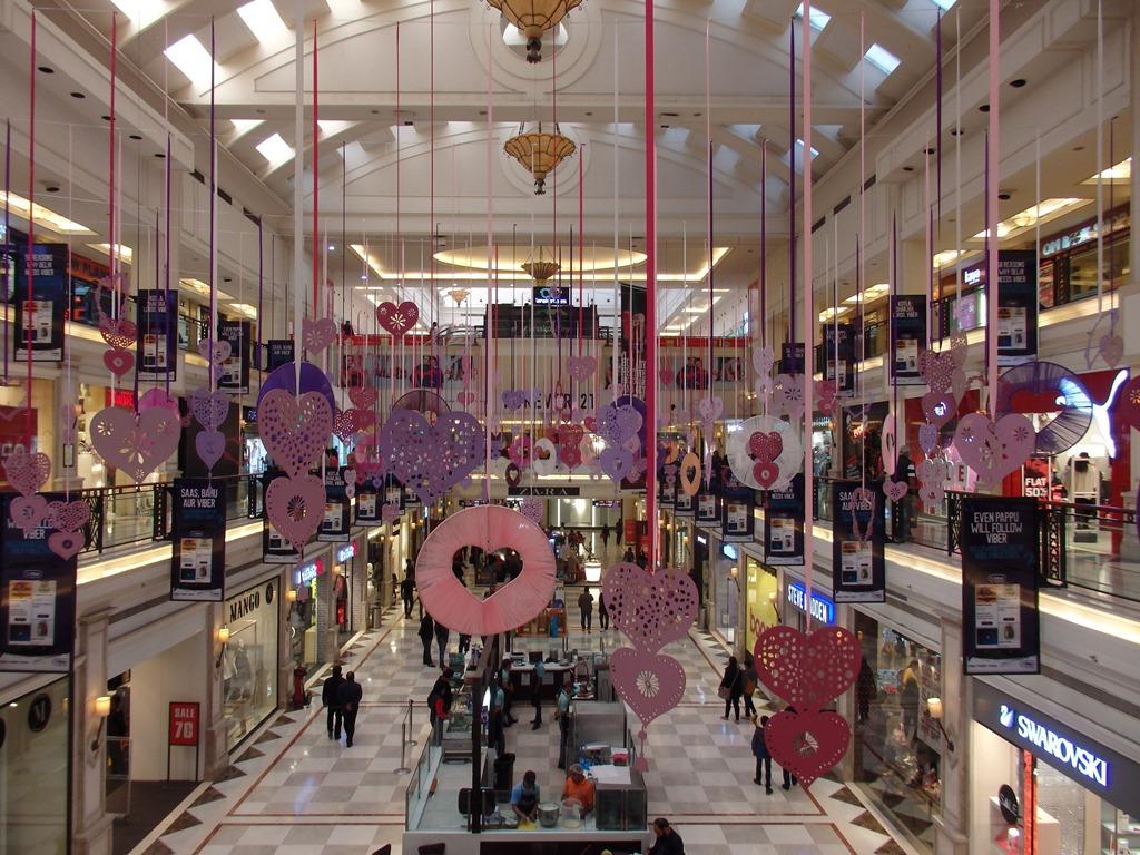 Inde Au Coeur Des Shopping Malls Nouveaux Temples Des