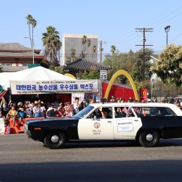 Los Angeles Police Department (LAPD) also took part in participating in LAKF while keeping everyone safe.