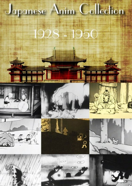 Japanese Anime Classic Collection 1928-1950 with english subtitles