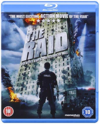 the raid uk blu ray