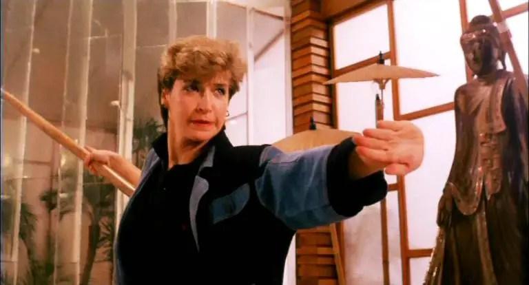 yes madam cynthia rothrock