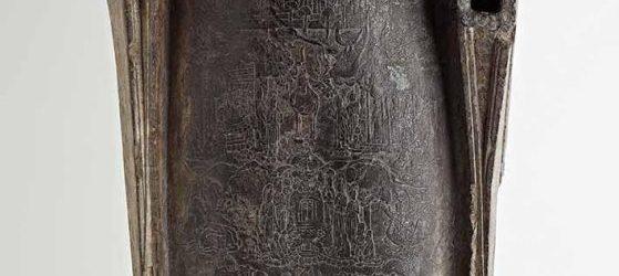 Cosmic Buddha, China, Northern Qi dynasty, 550-577, limestone, 151.3 x 62.9 x 31.3 cm, Freer Gallery of Art. Images courtesy Smithsonian's Digitalization Program Office