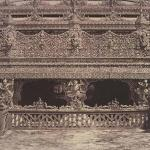 Part of Balcony on the South Side of Maha oung meeay liy mahan Kyong at Amerapoora Burma 1855