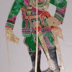 General, Southern Thailand; hide, bamboo, early 1970s © The Trustees of the British Museum