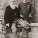 Lockwood Kipling with his son, Rudyard Kipling, 1882© National Trust / Charles Thomas