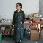 Cui Jie in her Beijing studio.