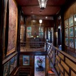 Staircase inside Jim Thompson's house