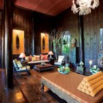 salon inside Jim Thompson's house