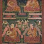 The Sakya Lamdre Lineage, 16th–17th century, Shalu, Shigatse, Tsang (South-Central Tibet), tradition: Sakya, pigments on cloth