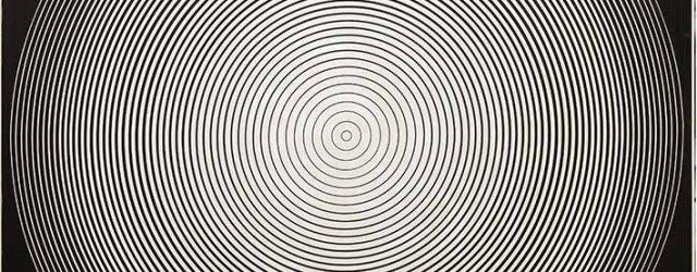 #D-133 by Tadasky (Tadasuke Kuwayama, b 1935), acrylic on canvas , signed, titled and dated 1966 on the reverse, framed, 173.5 x 173 cm. Provenance: the Jiro Yoshihara Collection, Gregg Baker Asian Art