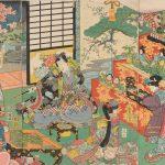 Utagawa-Kunisada Doll Festival