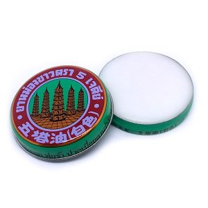 five pagodas white balm tin open asianbalm asian