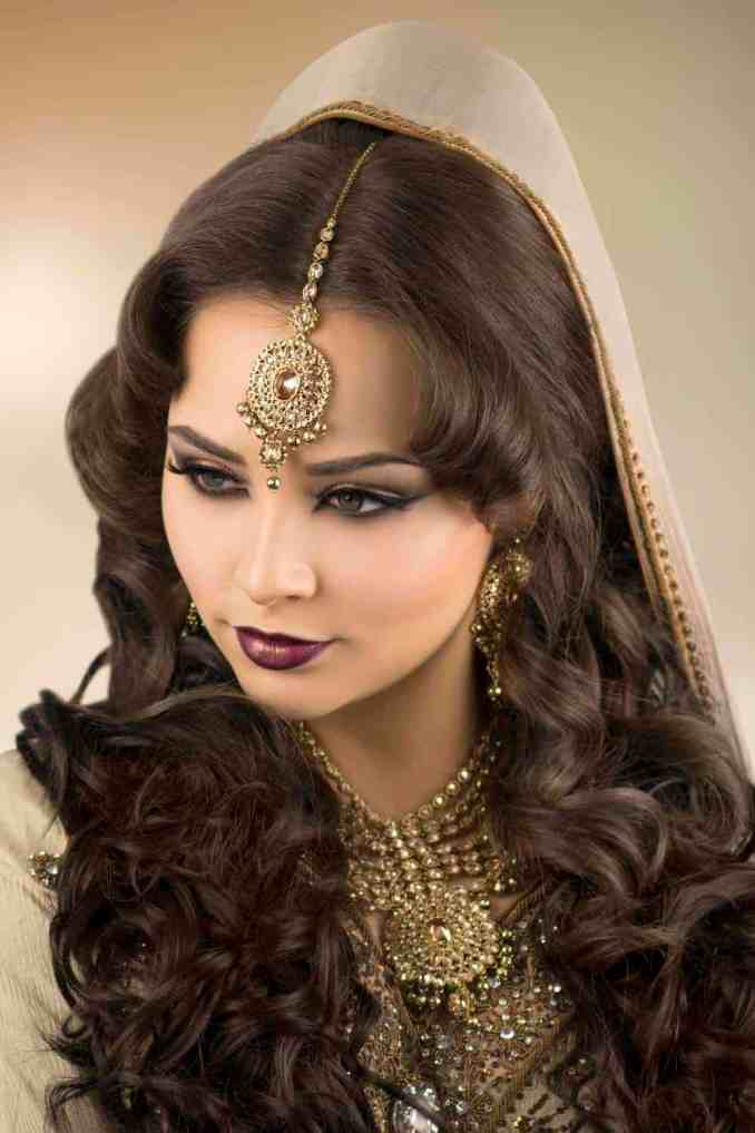 asian bridal makeup courses & hair courses - london - indian