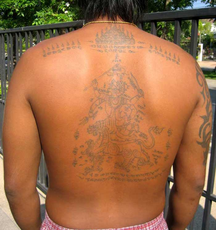 Check out my cousin's Hanuman Tattoo! Even today the Hanuman tattoo is very