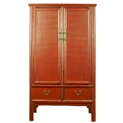 antique-chinese-red-brown-noodle-cabinet-wedding-wardrobe