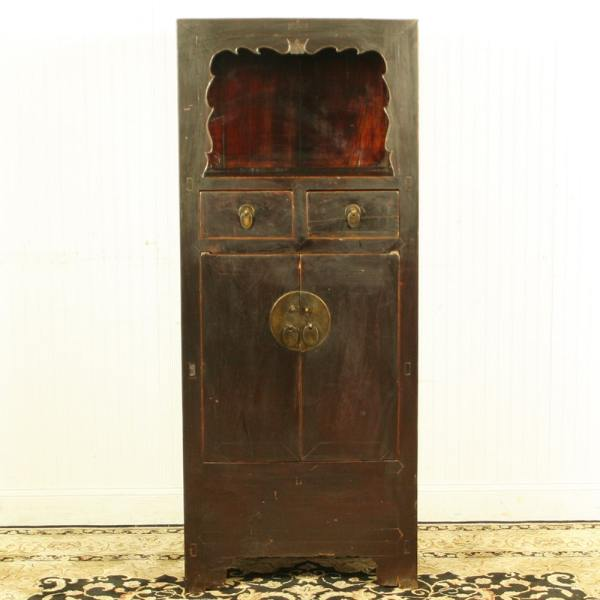 Antique Chinese display Linen cabinet