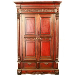rare-antique-red-chinese-wardrobe-wedding-cabinet