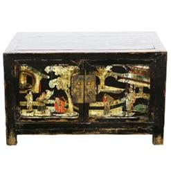 antique-small-2-door-black-cabinet-painted-scenes