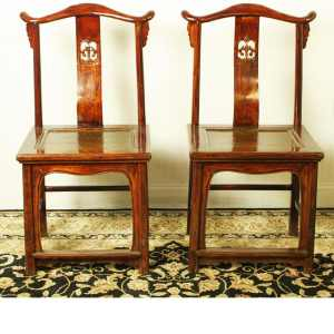 Antique Asian Chairs Benches and Stools