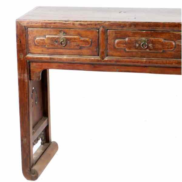 https://asiancountryantiques.com/shop/antique-asian-altar-sofa-console-tables/antique-chinese-78-inch-5-drawer-table-carved-end-panels/