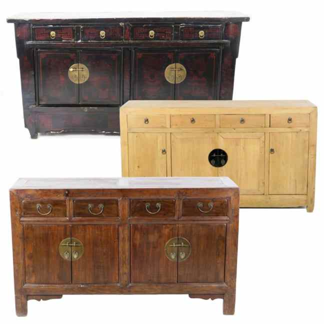 Antique Chinese Sideboard cabinets, (55