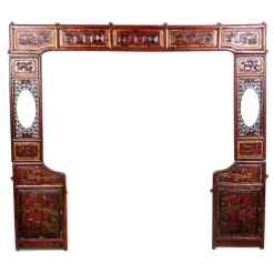 antique-chinese-carved-bed-panels-set