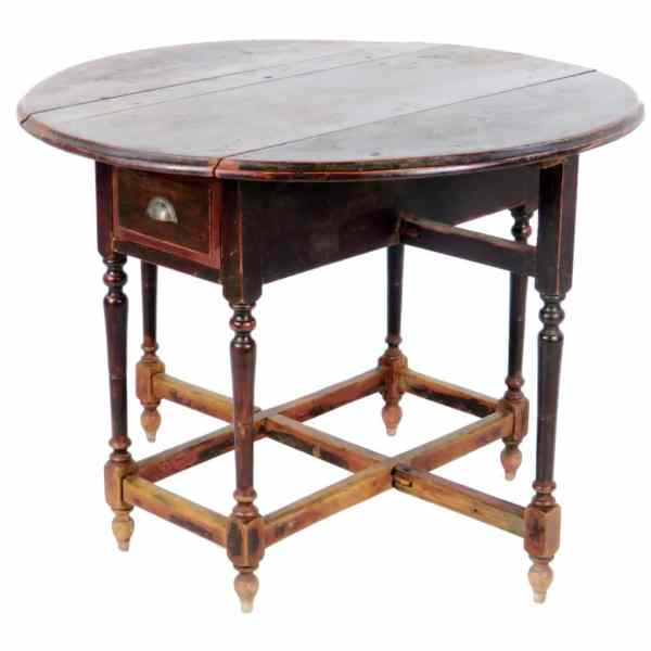 antique-chinese-round-drop-leaf-gate-leg-table