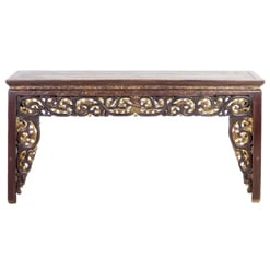 Antique Chinese 5 ft Console Table