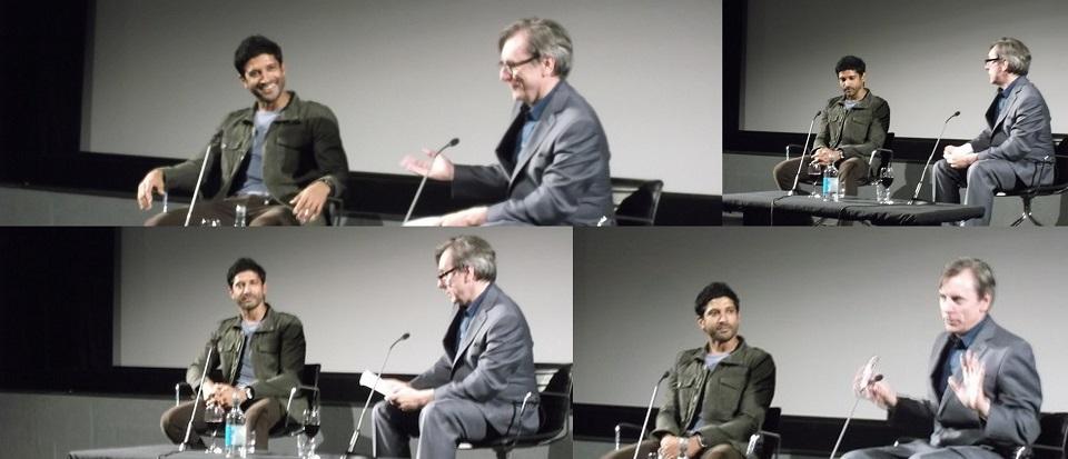 Bollywood's break out star Farhan Akhtar at the BFI London