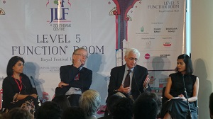 JLF 2016 London: Stimulating talks, protest and musical