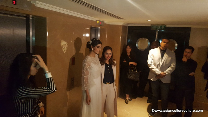 Sonam Kapoor enters and poses