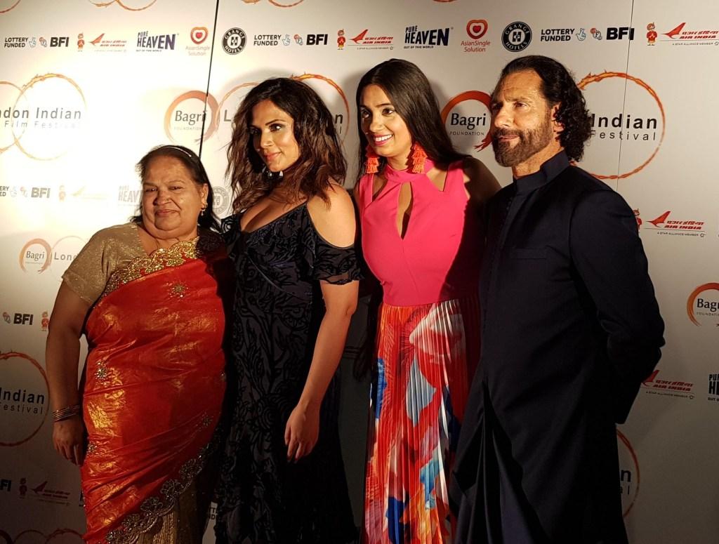 Bholi Grewal, Richa Chadha, Shay Grewal (LIFF ambassador) and Cary Raj (LIFF director)