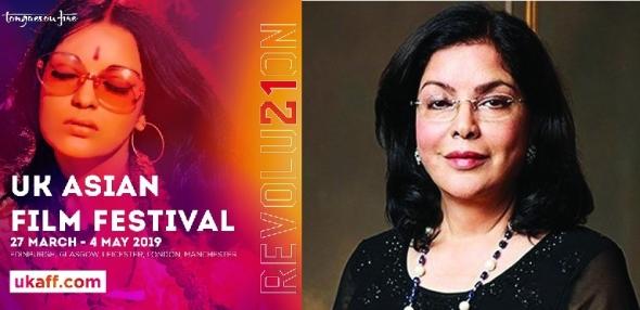 UK Asian Film Festival 2019 - Zeenat Aman, Bollywood star of