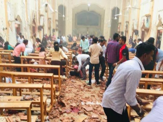 Sri Lanka reduces Easter blasts death toll from 359 to about 253