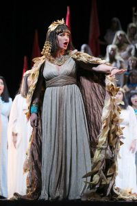 Nino Surguladze as Amneris