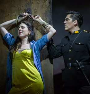Marie Karall and Giancarlo Monsalve in Act I