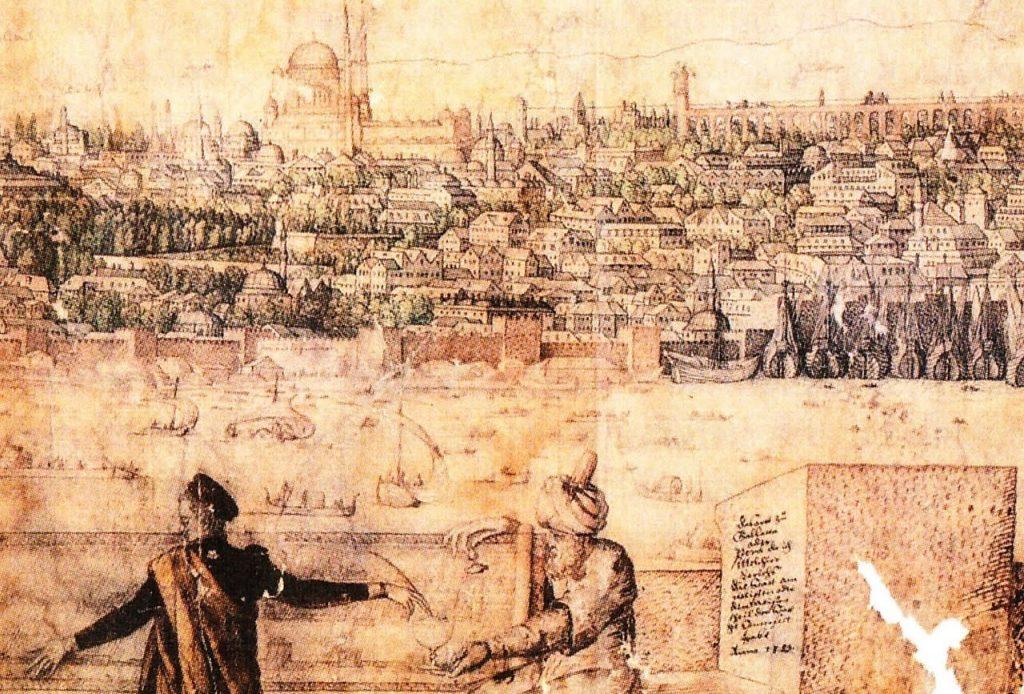Constantinople (Melchior Lorck, 1559)