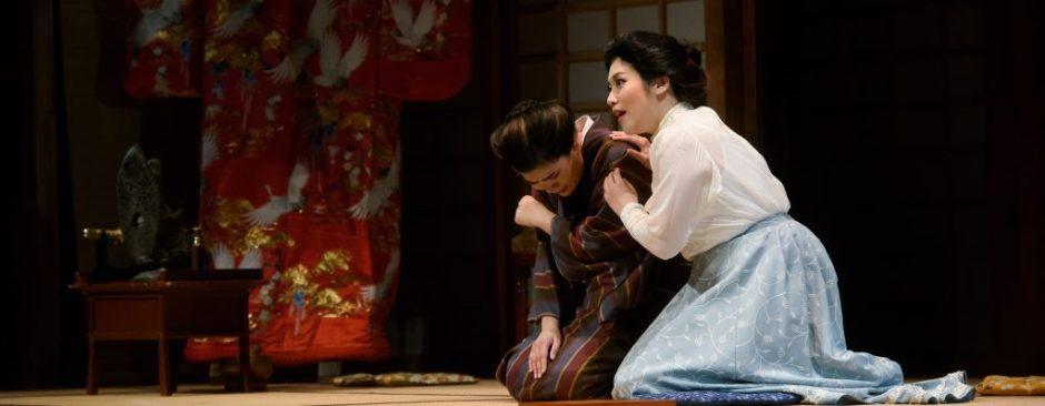 Carol Lin (Suzuki) and Butterfly (Myung-joo Lee) in Act II