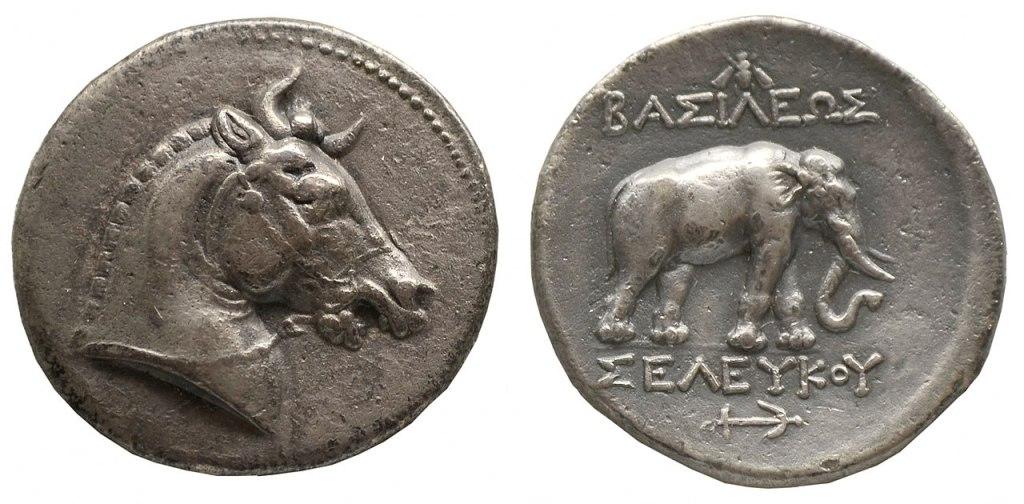 Tetradrachm, Seleucus I, third century BCE (Wikimedia)