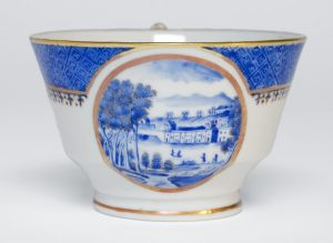 Cup showing the Philadelphia Waterworks c1820-30 (Philadelphia Museum of Art)