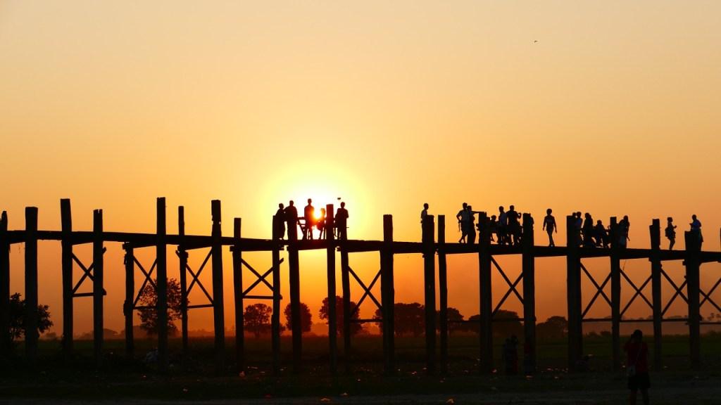 Ul Leg Bridge, Myanmar